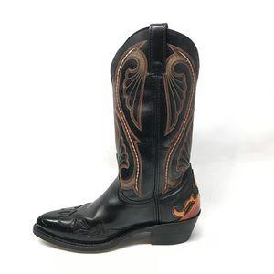 Laredo Western Cowboy Boots Size 7.5 D